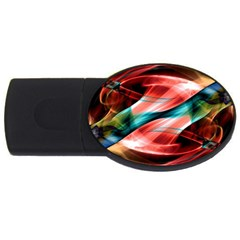 Mobile (6) 2GB USB Flash Drive (Oval)