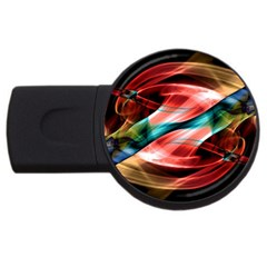 Mobile (6) 4gb Usb Flash Drive (round)