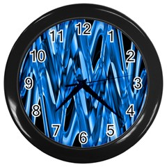 Mobile (8) Wall Clock (Black)