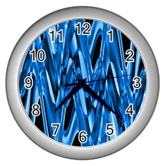 Mobile (8) Wall Clock (silver)