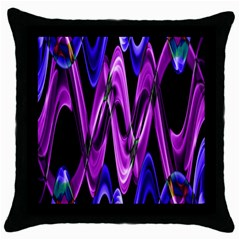 Mobile (9) Black Throw Pillow Case