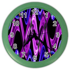 Mobile (9) Wall Clock (Color)