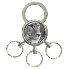 Lion 1 3-Ring Key Chain