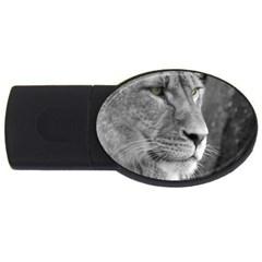 Lion 1 2gb Usb Flash Drive (oval)