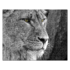 Lion 1 Jigsaw Puzzle (Rectangle)