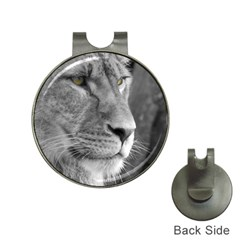 Lion 1 Hat Clip With Golf Ball Marker