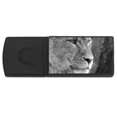 Lion 1 4GB USB Flash Drive (Rectangle)