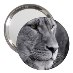 Lion 1 3  Handbag Mirror