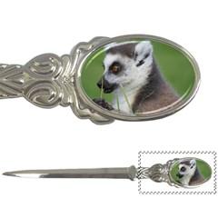 Ring Tailed Lemur  2 Letter Opener