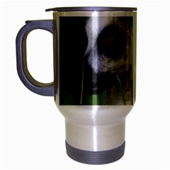 Ring Tailed Lemur  2 Travel Mug (Silver Gray)