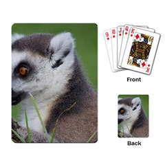 Ring Tailed Lemur  2 Playing Cards Single Design