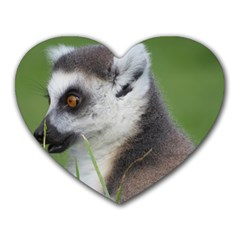 Ring Tailed Lemur  2 Mouse Pad (heart)
