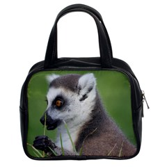 Ring Tailed Lemur  2 Classic Handbag (Two Sides)