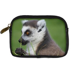 Ring Tailed Lemur  2 Digital Camera Leather Case