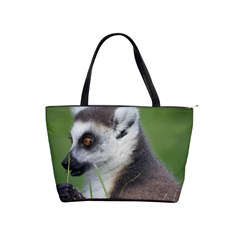 Ring Tailed Lemur  2 Large Shoulder Bag