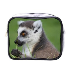 Ring Tailed Lemur  2 Mini Travel Toiletry Bag (One Side)