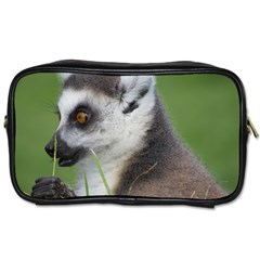 Ring Tailed Lemur  2 Travel Toiletry Bag (one Side)