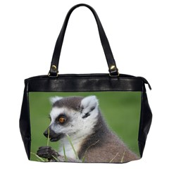 Ring Tailed Lemur  2 Oversize Office Handbag (Two Sides)