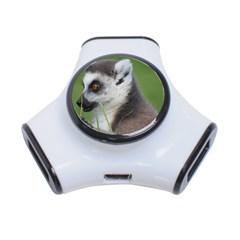 Ring Tailed Lemur  2 3 Port USB Hub