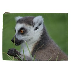 Ring Tailed Lemur  2 Cosmetic Bag (XXL)