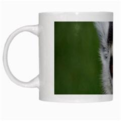 Ring Tailed Lemur White Coffee Mug