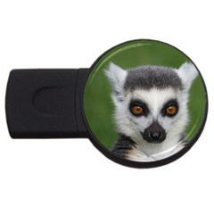 Ring Tailed Lemur 1GB USB Flash Drive (Round)