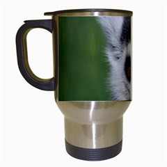 Ring Tailed Lemur Travel Mug (White)