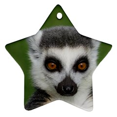 Ring Tailed Lemur Star Ornament (Two Sides)