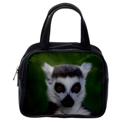 Ring Tailed Lemur Classic Handbag (One Side)