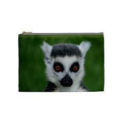 Ring Tailed Lemur Cosmetic Bag (Medium)