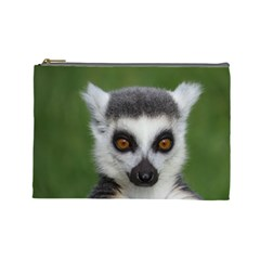Ring Tailed Lemur Cosmetic Bag (Large)