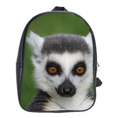 Ring Tailed Lemur School Bag (Large)