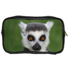 Ring Tailed Lemur Travel Toiletry Bag (one Side)