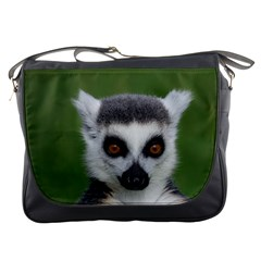 Ring Tailed Lemur Messenger Bag