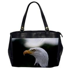 Bald Eagle (1) Oversize Office Handbag (One Side)