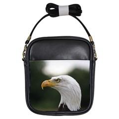 Bald Eagle (1) Girl s Sling Bag
