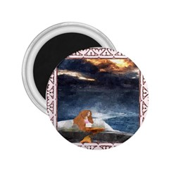 Stormy Twilight Ii [framed]  2 25  Button Magnet