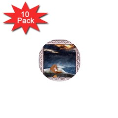 Stormy Twilight Ii [framed]  1  Mini Button (10 pack)