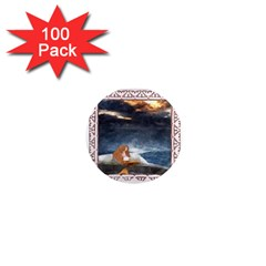 Stormy Twilight Ii [framed]  1  Mini Button Magnet (100 pack)