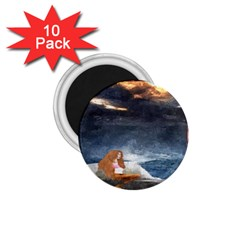 Stormy Twilight Ii [framed]  1.75  Button Magnet (10 pack)