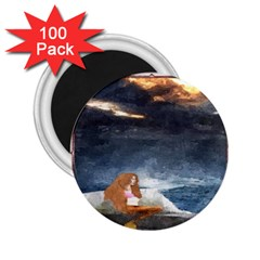 Stormy Twilight Ii [framed]  2.25  Button Magnet (100 pack)