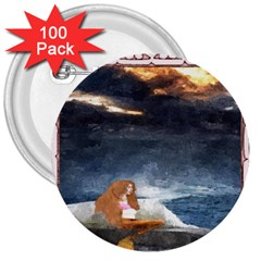 Stormy Twilight Ii [framed]  3  Button (100 pack)