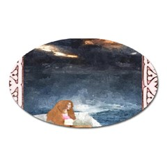 Stormy Twilight Ii [framed]  Magnet (oval)