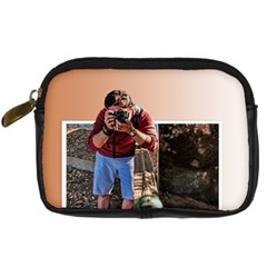 Photographer in action Digital Camera Leather Case