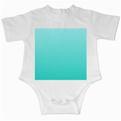 Celeste To Turquoise Gradient Infant Creeper