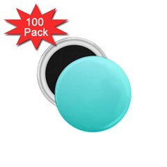 Celeste To Turquoise Gradient 1.75  Button Magnet (100 pack)