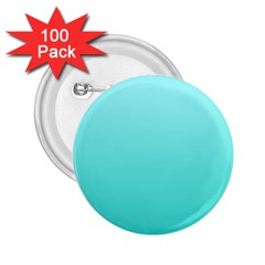 Celeste To Turquoise Gradient 2.25  Button (100 pack)
