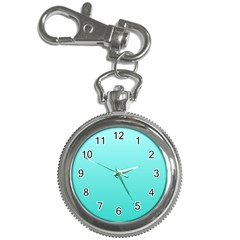 Celeste To Turquoise Gradient Key Chain & Watch