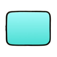 Celeste To Turquoise Gradient Netbook Case (Small)