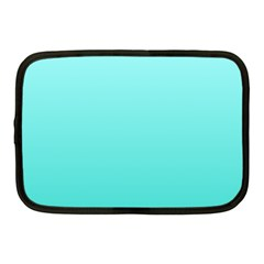 Celeste To Turquoise Gradient Netbook Case (medium)